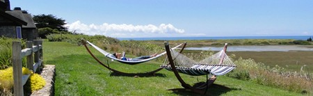 Bodega Bay Lodge hammocks