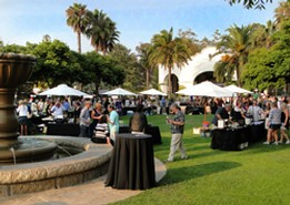 Touring & Tasting at the California Wine Festival