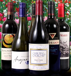Spring Sampler Sale of Six wines 44% Off